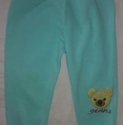 New warmed trousers for age 1,5-3 years