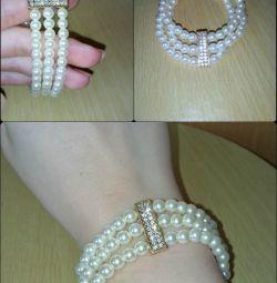 perla brățară întinsă