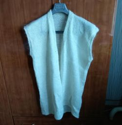 Tank Top Knitted Wool