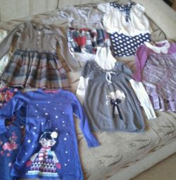 Платья пакетом на 8-10 лет