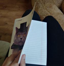 Striped 48list Notebook