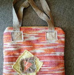 Τσάντα νέα Melange στο ύφος του boho