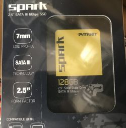 Ssd 128Gb new
