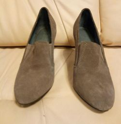 Shoes, 37-38 nat. suede