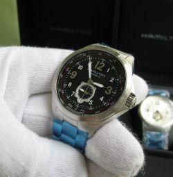 Hamilton khaki aviation QNE H76655133