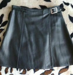 Skirt, leather, turkey