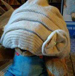Yeni şapka kap eşarp örme