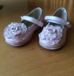 Туфли детские Блюмарин Италия в отл состоянии,кожа
