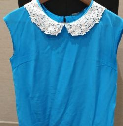 Lusio blouse blue