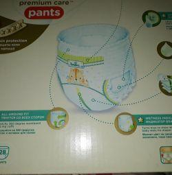 Трусики-подгузники Pampers Premium Care 3(6-11)28ш