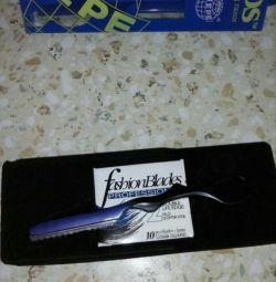 Un cuțit de frizer