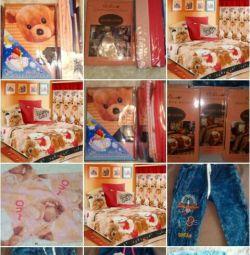 Children's sets in the bedroom