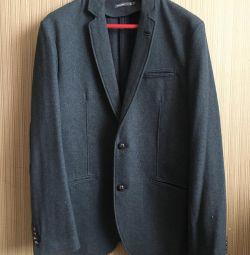 Пиджак Springfield шерстяной новый
