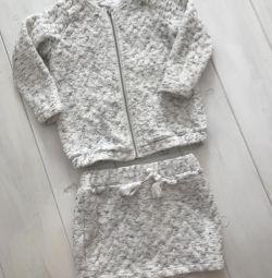 Φούστα κοστούμι + σακάκι