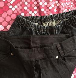 брюки на худенькую девушку