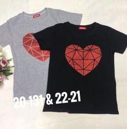 New T-shirt gray 46_48