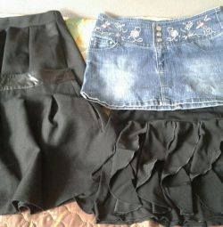 Skirts for second-hand girls for 200 rubles