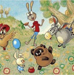 Covorul pentru copii Winnie the Pooh