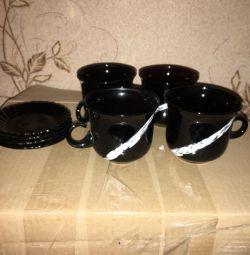Set de ceai (sticlă)