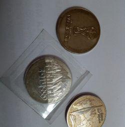 монета 25 р сочі2014, сочі2018