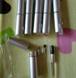 Metal Tube Makeup Brushes