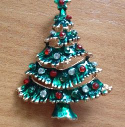 Brooch Christmas Fir-tree