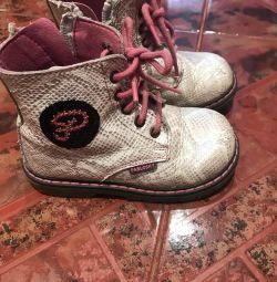 Κομψά παπούτσια από γνήσιο δέρμα