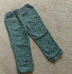 Pantaloni 98 dimensiuni