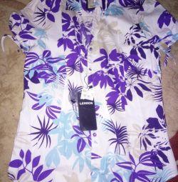 Рубашки женские M-L