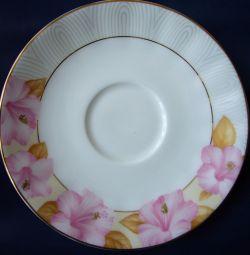 Saucer. Porcelain. Japan # 8