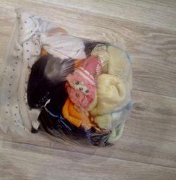 Ένα πακέτο καλσόν και κάλτσες 74-86
