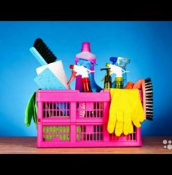 Cleaning of apartments, houses, offices, rooms