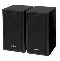 Στήλες 2,0 2 * 3 W Perfeo Cabinet MDF μαύρο νέο