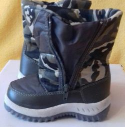 Demi-season boots.