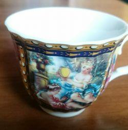 Чашка чайная, фарфор