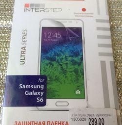 Захисна плeнка Samsung s6