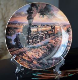 Union Pacific England Collector Plate
