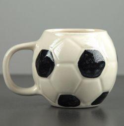 Кружка Футбольний м'яч