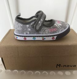 Kız tekstil ayakkabı