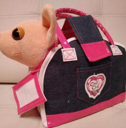 Собачка ЧиЧиЛав в сумочке