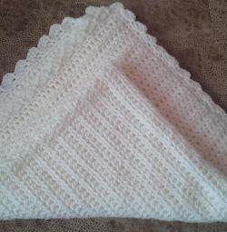 Blanket blanket children's knitted handwork 105 * 105