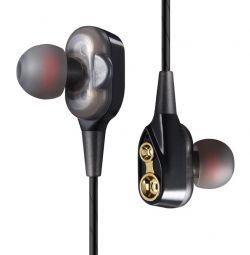 Bluetooth стерео-наушники с двойными динамиками