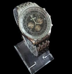 Wrist watch W063, steel