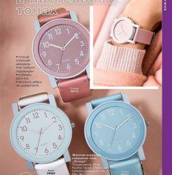 Ceas pentru femei. Culoare: alb, roz, albastru