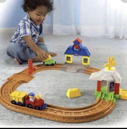 Railway for kids Fisher Price