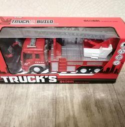 Пожарная машина новая