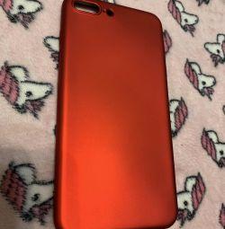 Νέα θήκη σιλικόνης για iPhone 7/8 plus