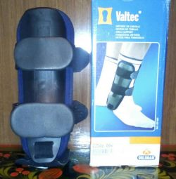 Orthosis for the ankle and foot.