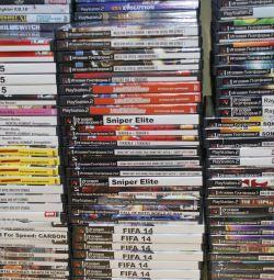 Игровые диски на вторую SONY-PS