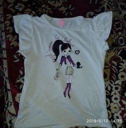 T-shirt στο κορίτσι 122-128